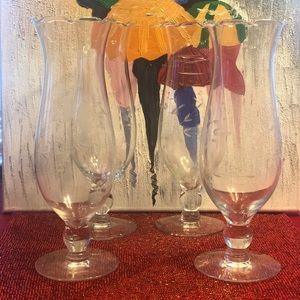 Set of 4 vases